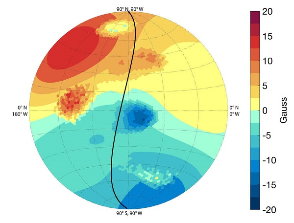Jupiter magnetic field