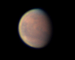 Mars from New Hampshire