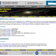 Default entry screen for NASA JPL HORIZONS Web-Interface.