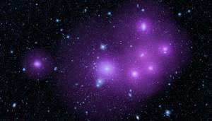 Fornax galaxy cluster, enhanced