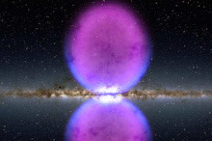 Fermi visualization of Milky Way bubbles