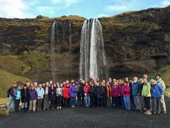 Sky & Telescope Iceland aurora tour group