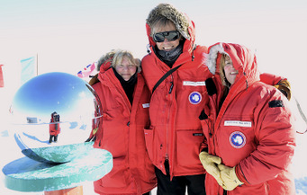 Govert Schilling at South Pole