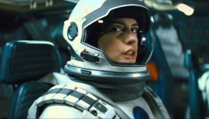 Ann Hathaway in Interstellar
