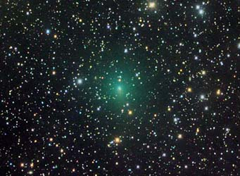 Comet Hartley 2 on September 6th