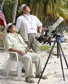 Joson & Aguirre await totality