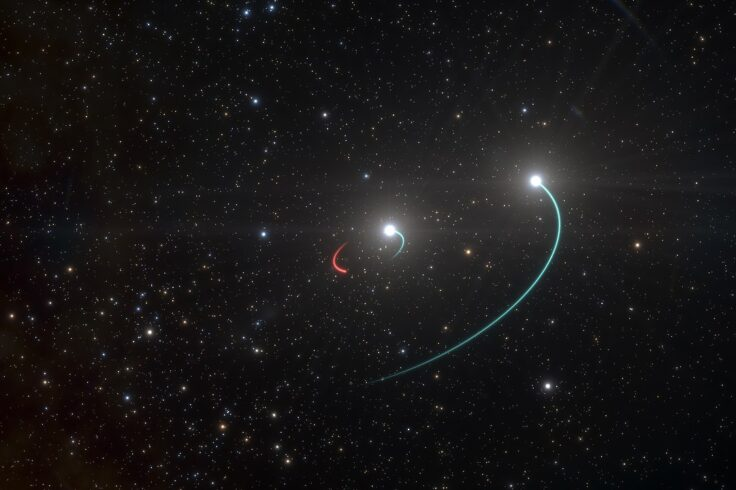 Artist's impression of HR 6819
