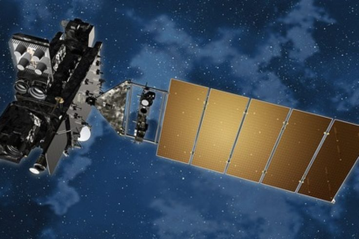 GOES-R in space