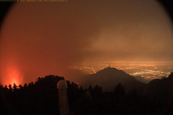 Mount Wilson wildfire