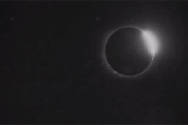 Solar Eclipse in 1900