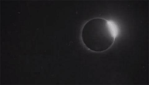 Solar Eclipse in 1900
