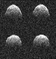 Radar images of asteroid 101955 (1999 RQ<sub>36</sub>)