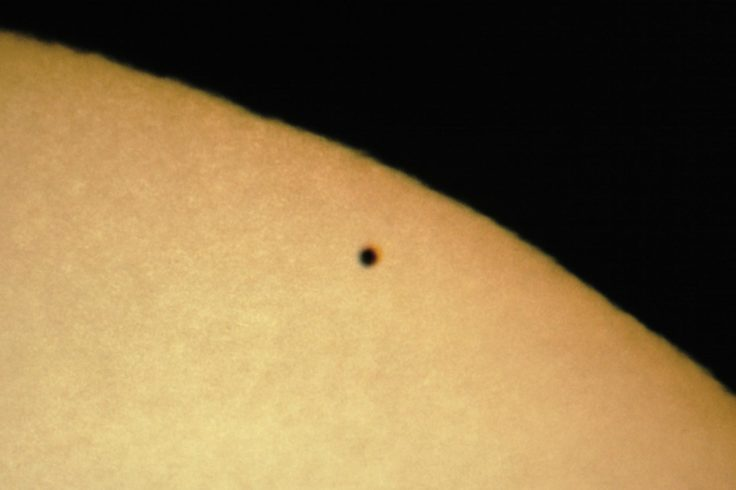 2006 Mercury transit close-up