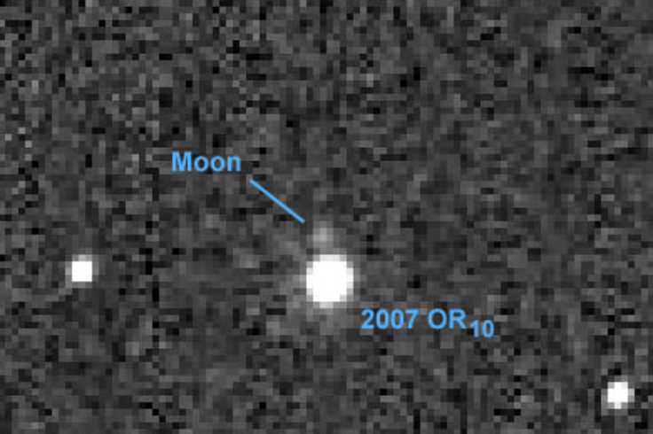 Moon of 2007 OR10