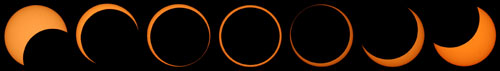 Edwelda's annular eclipse sequence