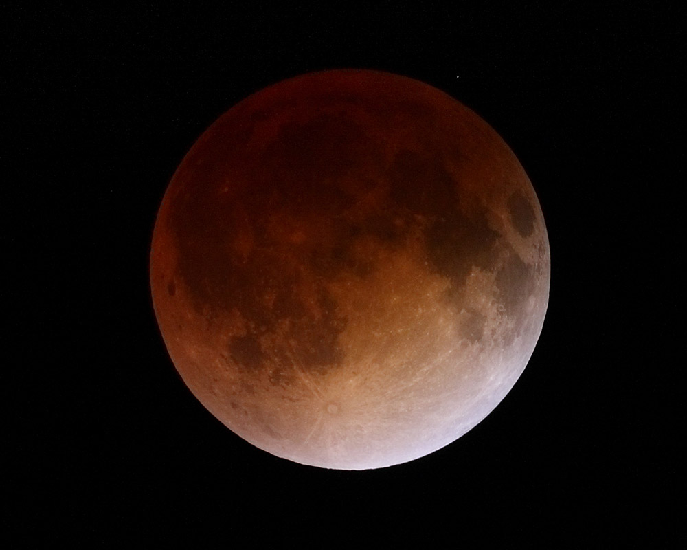 Total Lunar Eclipse 04 15 2014 From San Diego Ca