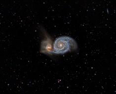 M51 and NGC 5195