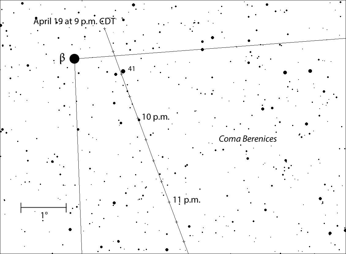 9–11:30 p.m. CDT path
