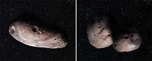 2014 MU69 comparison artwork