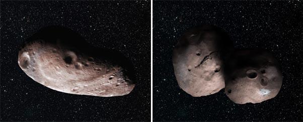 2014 MU69 comparison artwork