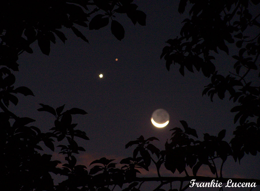 mars venus moon conjunction photos - photo #1
