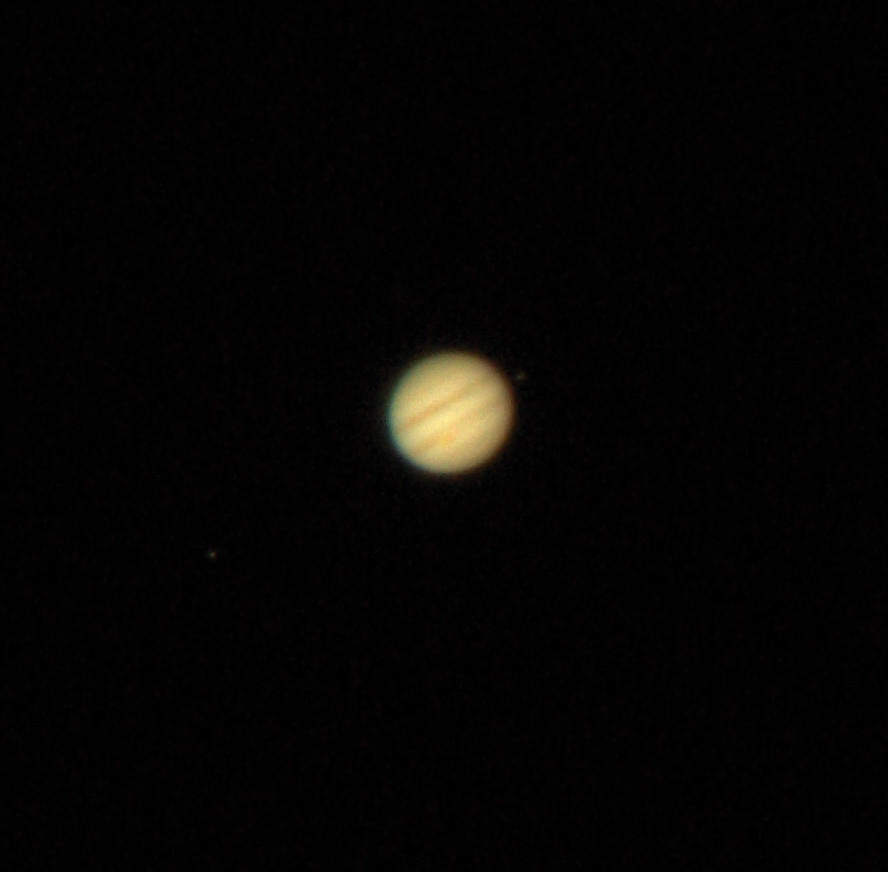 moons and jupiter in telescope - photo #38