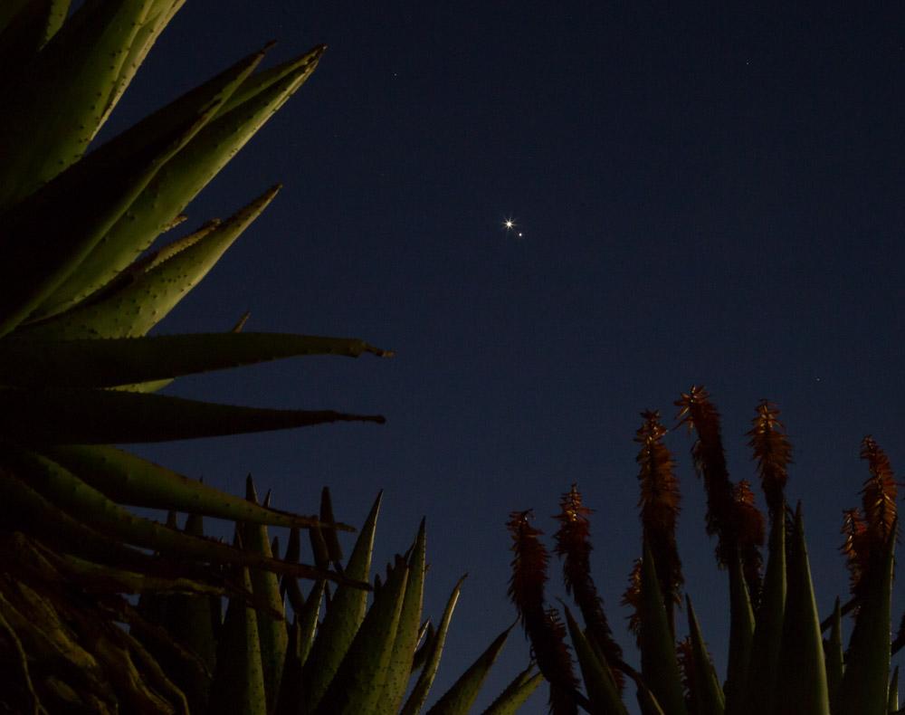Venus-Jupiter conjunction