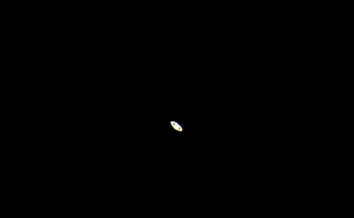 Saturn Captured With A 60mm Refractor Sky Amp Telescope