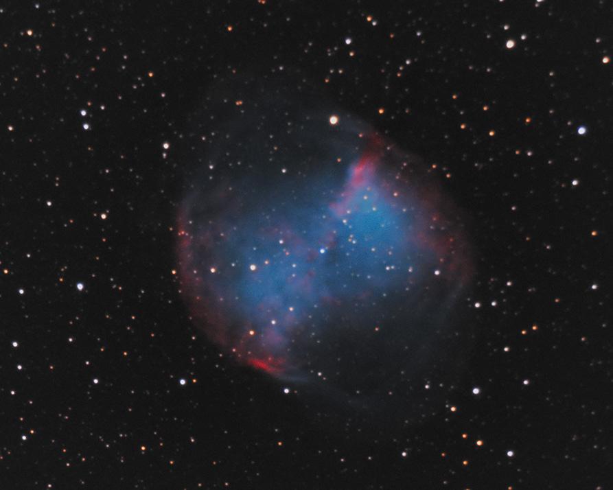 through a small telescope nebula m27 - photo #41