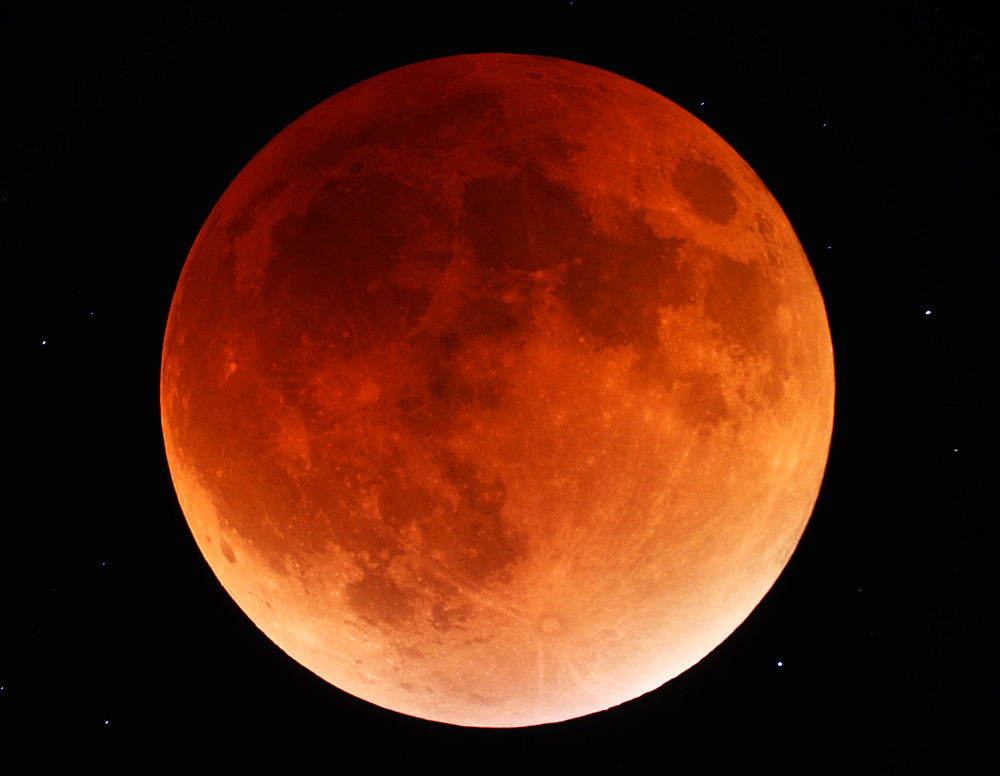 Total Lunar Eclipse (September 27, 2015)
