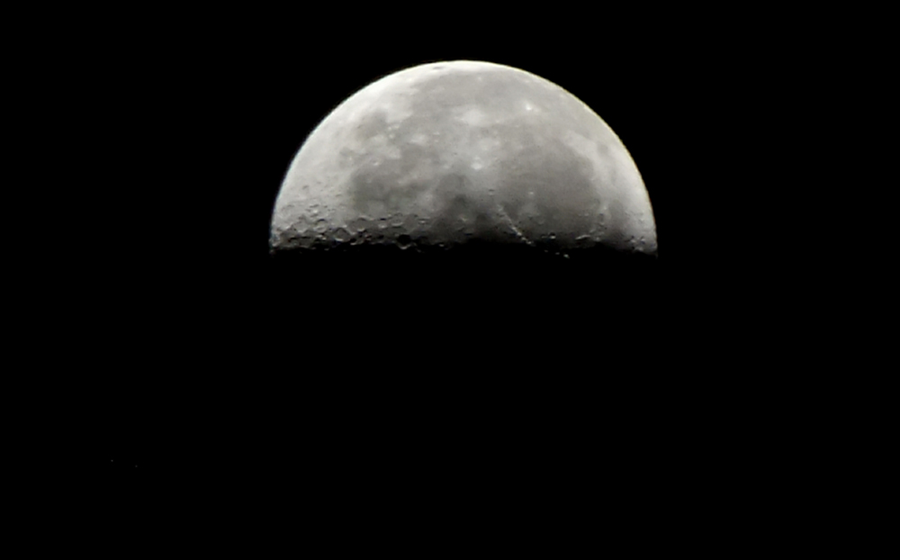 half moon astronomy - photo #20
