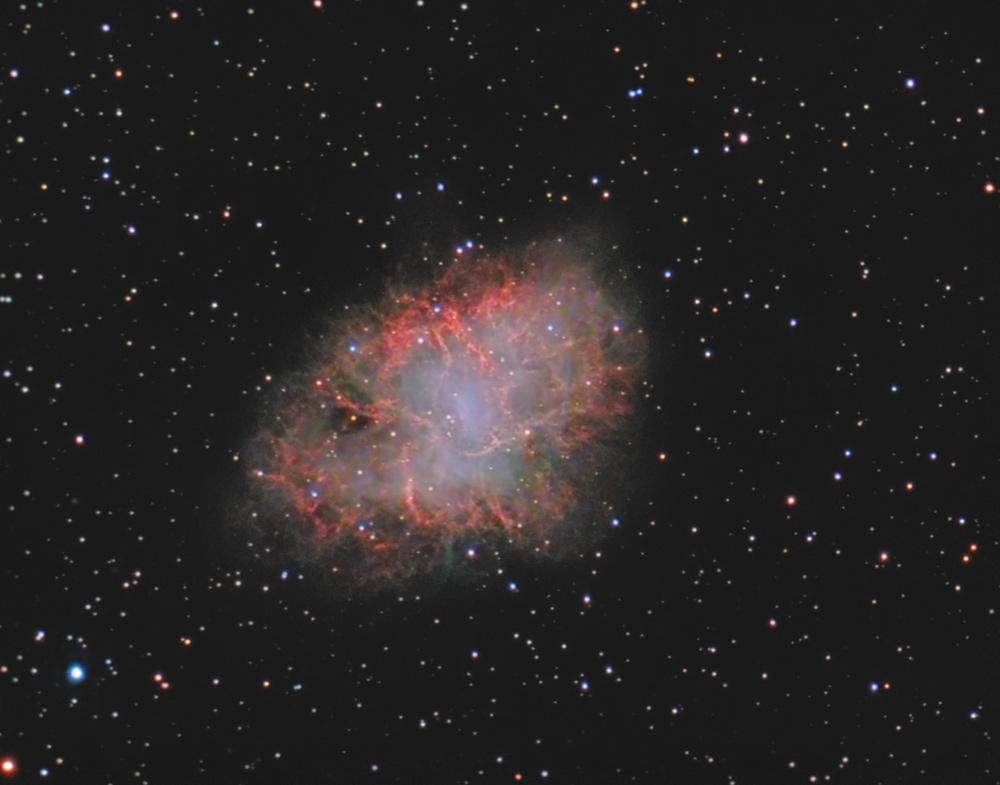 crab nebula m1-#17