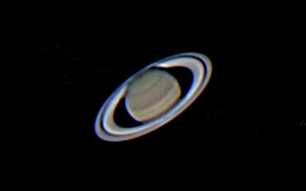 Cassini division and equatorial zones in Saturn. - Sky ...