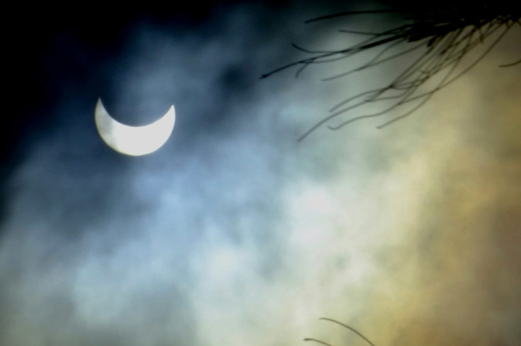 Partial solar eclipse, Kenya
