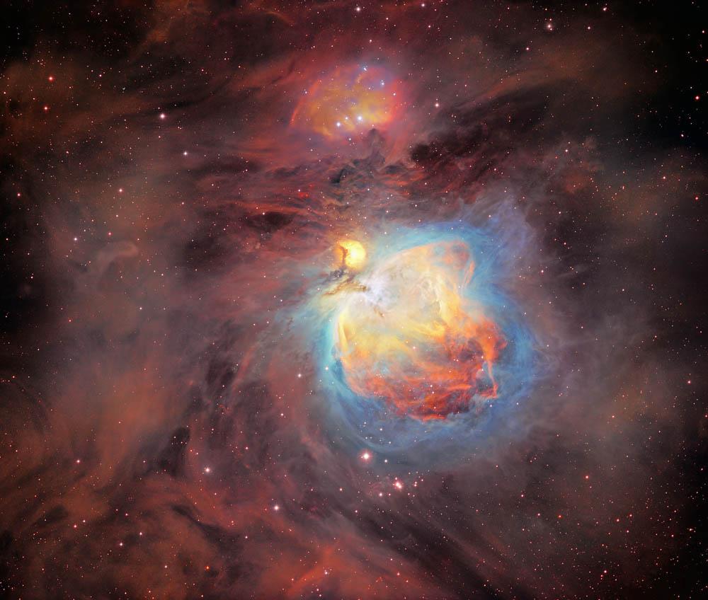 Orion Nebula In SHO - Sky & Telescope