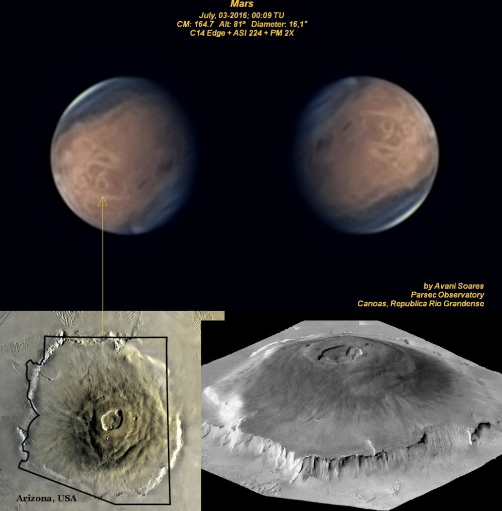 biggest volcano in our solar system - photo #6