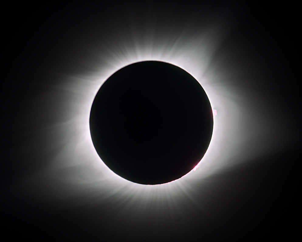 Eclipse from Corvallis, Oregon