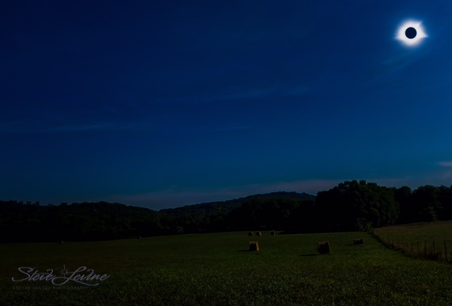 Eclipse over Sparta,TN