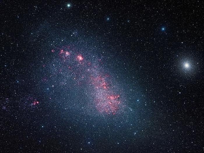 Small Magellanic Cloud by Alan Tough
