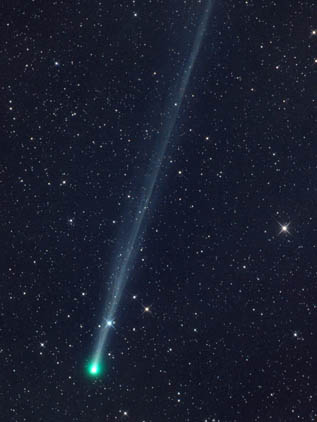 Blue-green Phantom (45P/Honda-Mrkos-Pajdusakova) is one of the visible comets 2017 events to see!