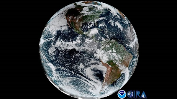 GOES-16 eclipse