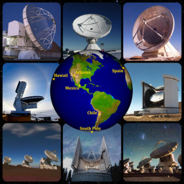EHT great 8 telescopes