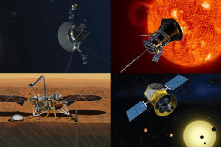 Voyager 2, Parker Solar Probe, TESS & Insight