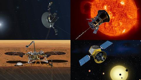 Voyager 2, Parker Solar Probe, TESS & Insight