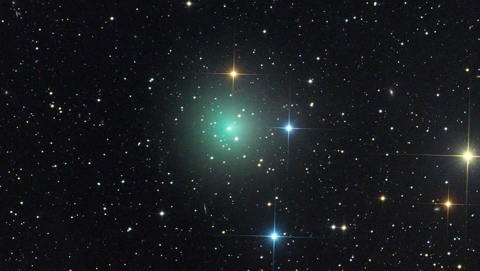 Up-and-comer comet