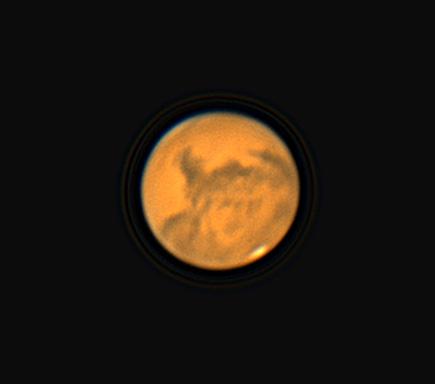 Mars on Oct. 10, 2020