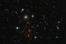 Abell 370 Galaxy Cluster and The Dragon – 5 billion light years