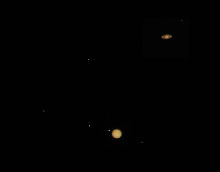 Jupiter and Saturn's Great Conjunction