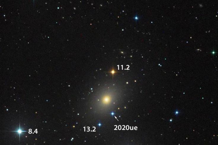 A bright supernova