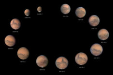 Mars in 2020: 13 image retrospective
